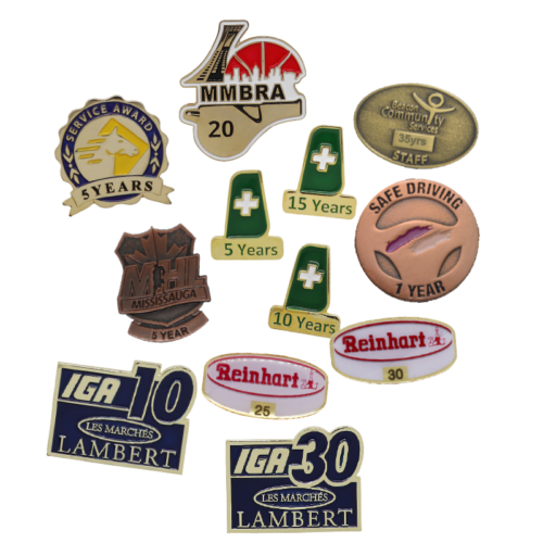 Recognition Years Pins