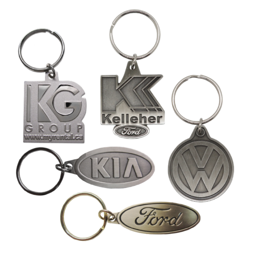 Die Struck Key Tags