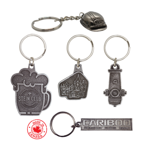 Made In Canada Key Tags