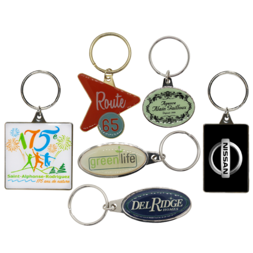 Imprinted Key Tags